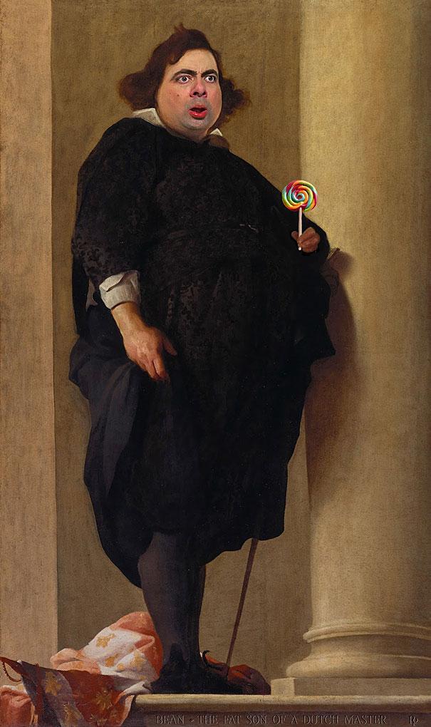 mr-bean-rowan-atkinson-historic-portraits-recreations-rodney-pike-4