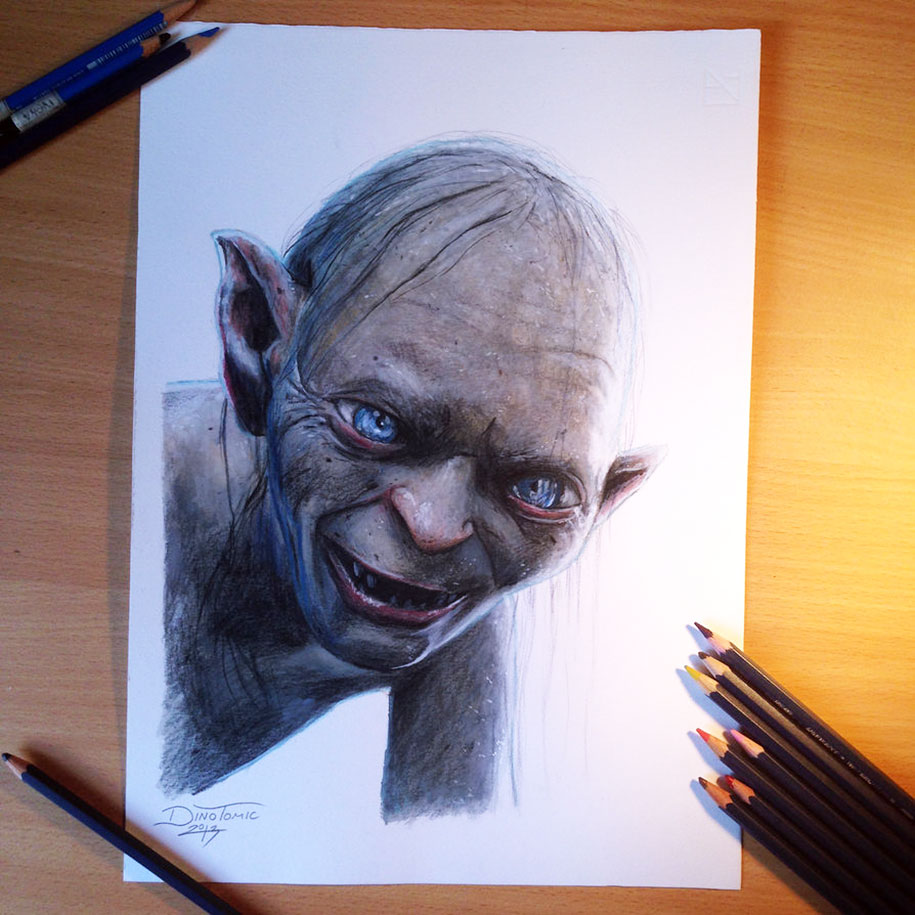 Incredibly Detailed And Realistic Pencil Drawings By Dino ...