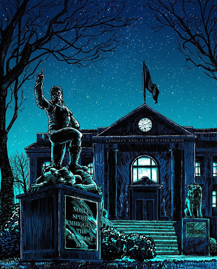 simpsons-springfield-night-illustrations-tim-doyle-5