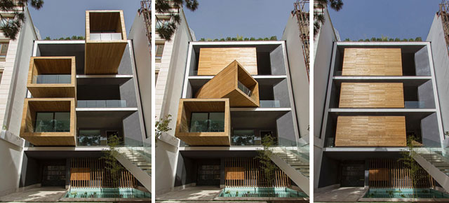 Modern House In Tehran Has Rooms That Rotate 90 176 With The