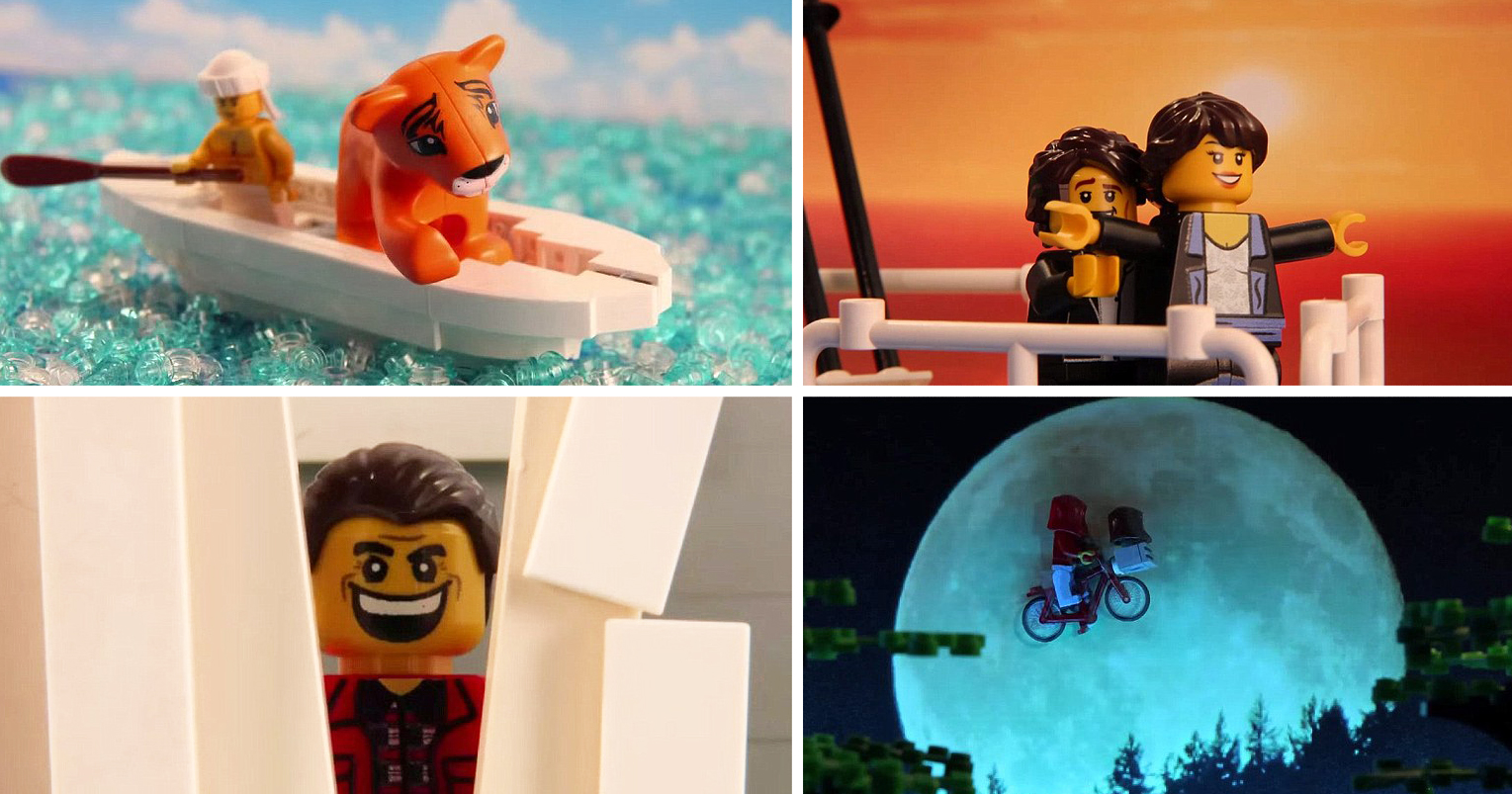 teen filmmaker recreates iconic movie scenes with lego in