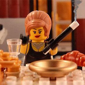 Artist Recreates The History Of Nazi Germany In Lego