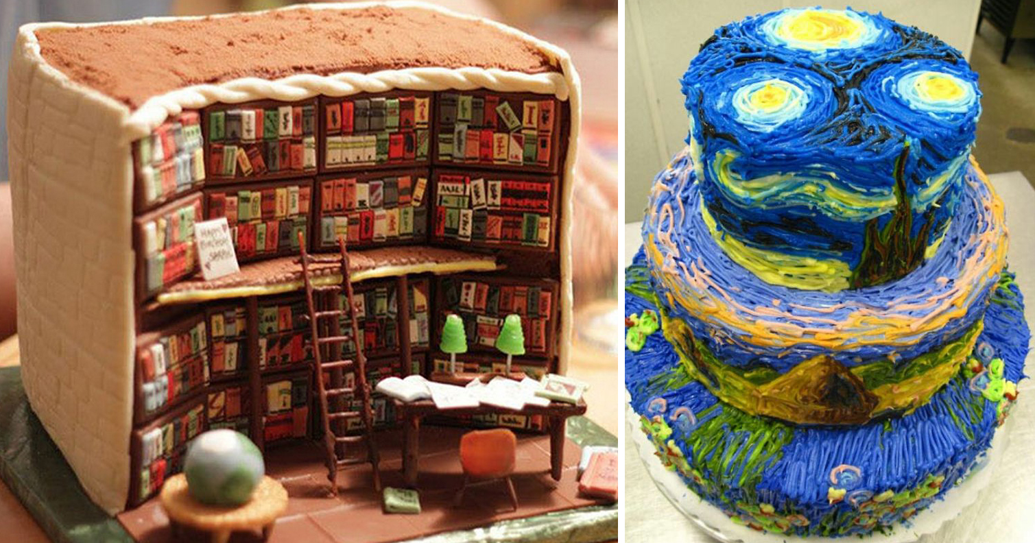 Library Cake Images