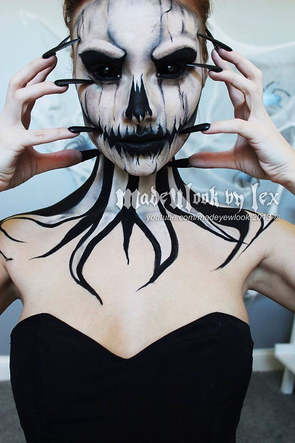 creepy-halloween-make-up-creative-ideas-5