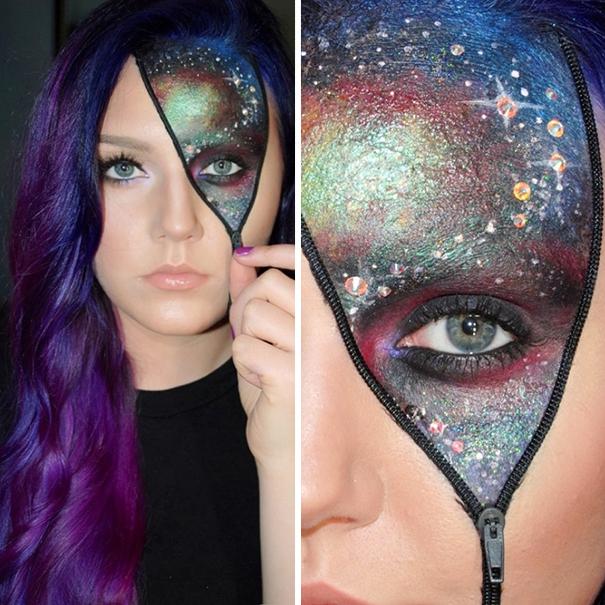 Creative Halloween Decoration Ideas: 25 Of The Scariest Makeup Ideas For Halloween