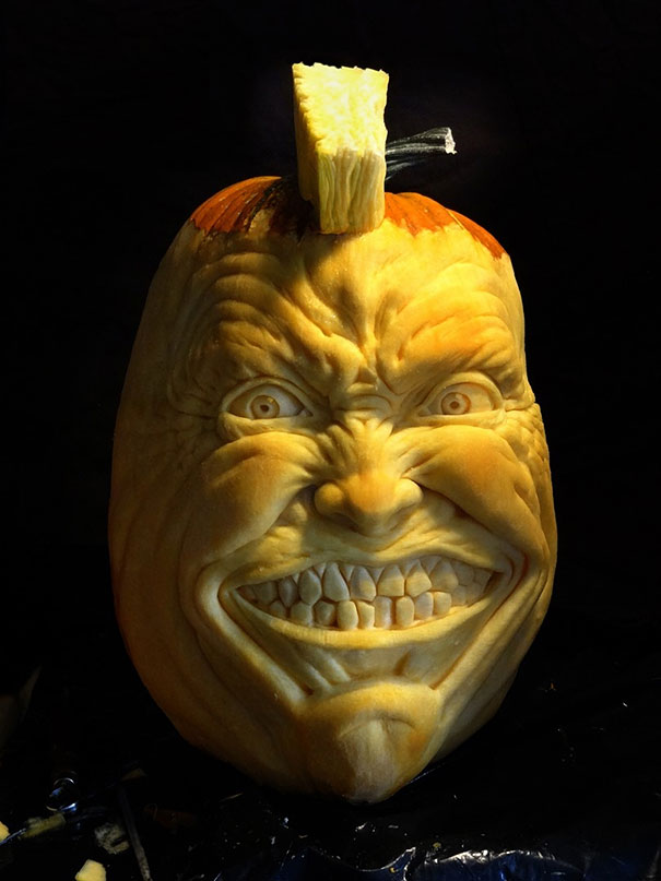 Jaw dropping pumpkin carvings by jon neill