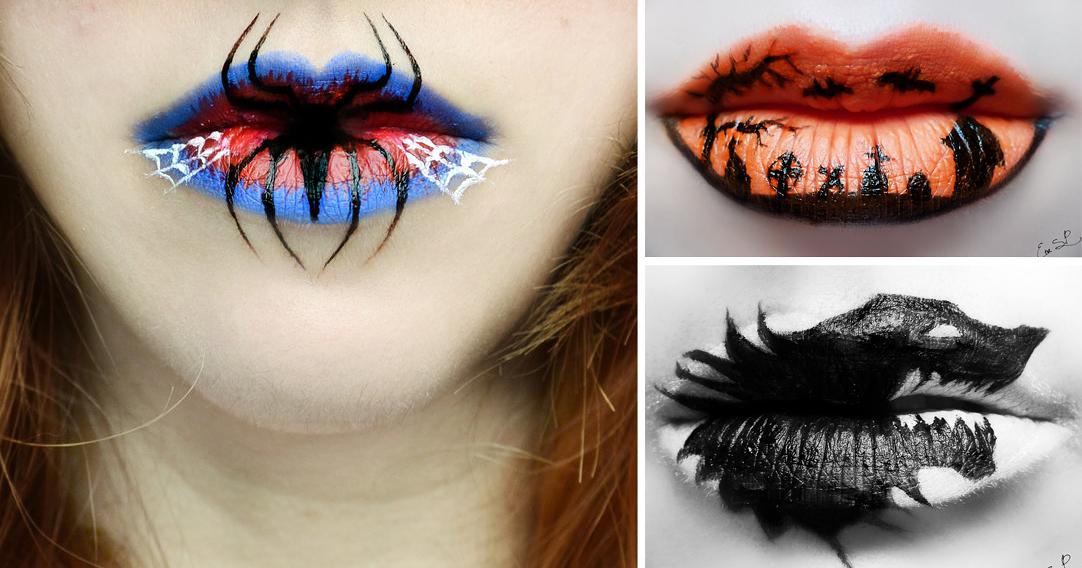 Halloween Lip Makeup Ideas By Eva Pernas
