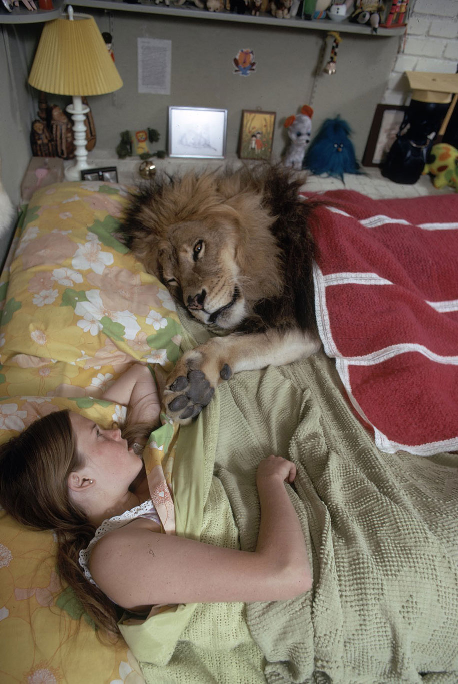 Living With Neil the Lion Documented In Bizarre Photoshoot ...