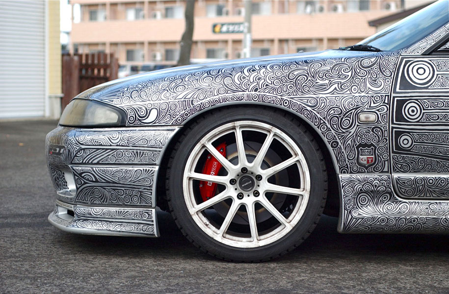 sharpie-pen-drawing-car-art-7