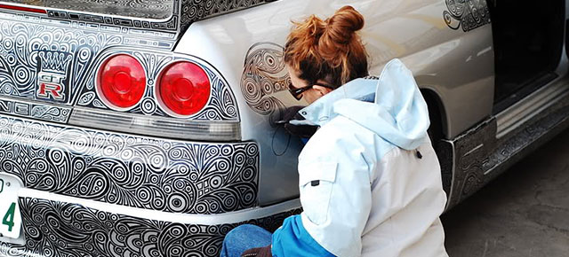 Paint Pen Vs Brush Car