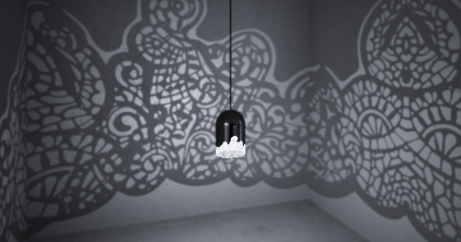 This 3D-Printed Lamp Turns Any Room Into A Wonderland