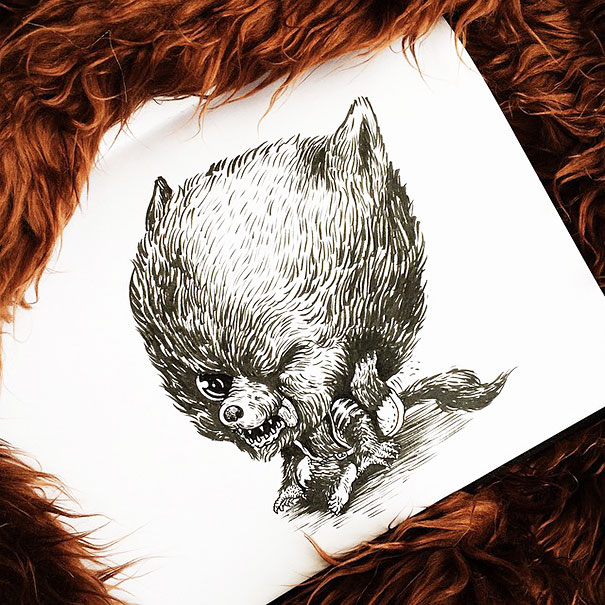 baby-terrors-iconic-horror-characters-illustrations-alex-solis-13
