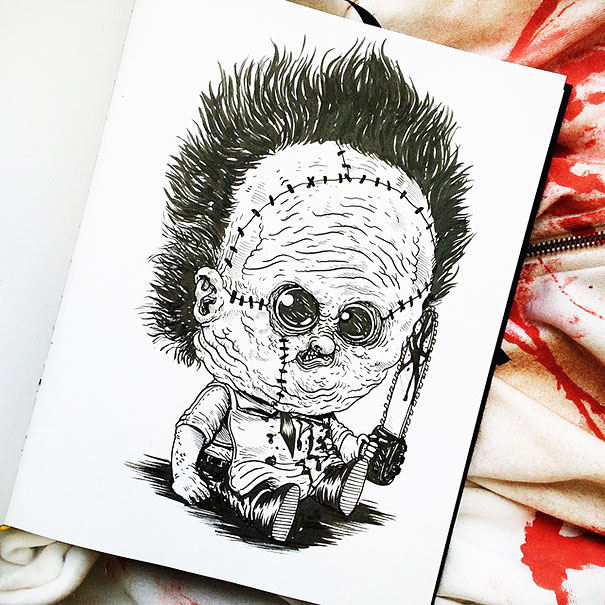 baby-terrors-iconic-horror-characters-illustrations-alex-solis-15