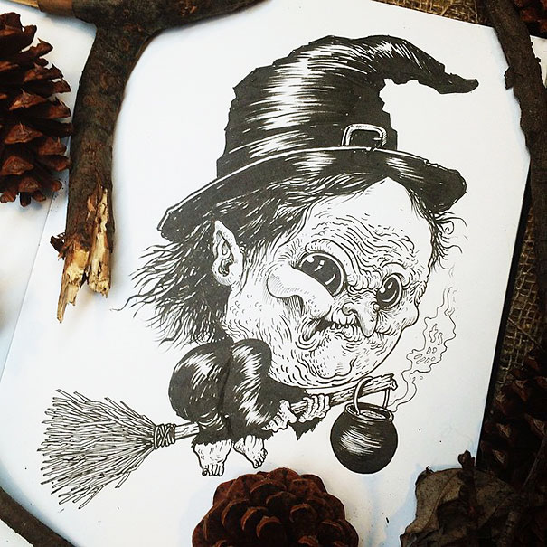 baby-terrors-iconic-horror-characters-illustrations-alex-solis-19