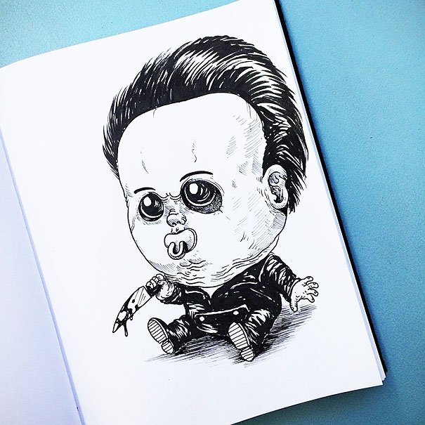 baby-terrors-iconic-horror-characters-illustrations-alex-solis-7