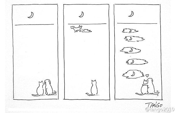 Una imagen vale mas que mil palabras - Página 5 Funny-minimal-illustrations-shanghai-tango-8