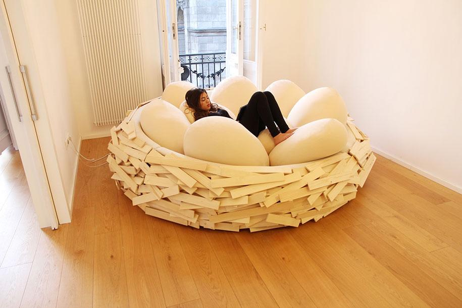 Giant Birds Nest Bed Design Oge Creative Group