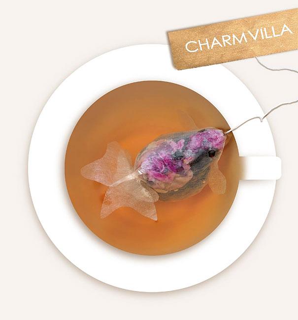 Créations du Croah croah - Page 9 Gold-fish-tea-bag-design-charm-villa-3