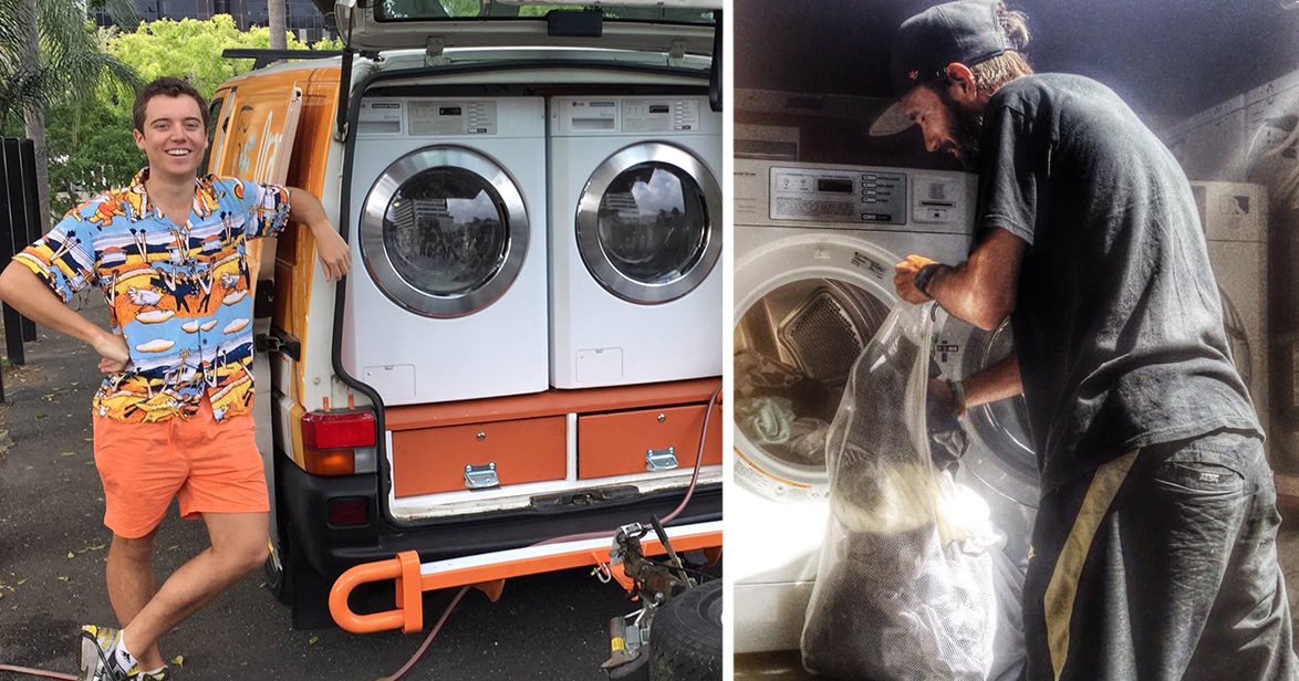 Two Australian Friends Turned Their Van Into A Mobile