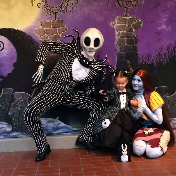 Mom Sews Disney... Homemade Jack Skellington Costume
