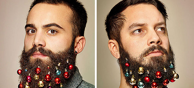 Turn Your Beard Into A Christmas Tree With These Beard Baubles