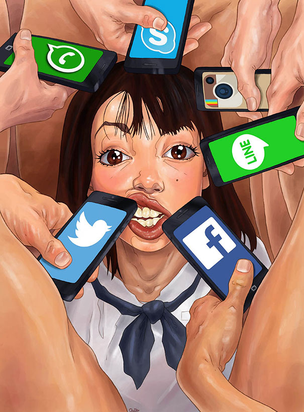 controversial-illustrations-luis-quiles-gunsmithcat-15