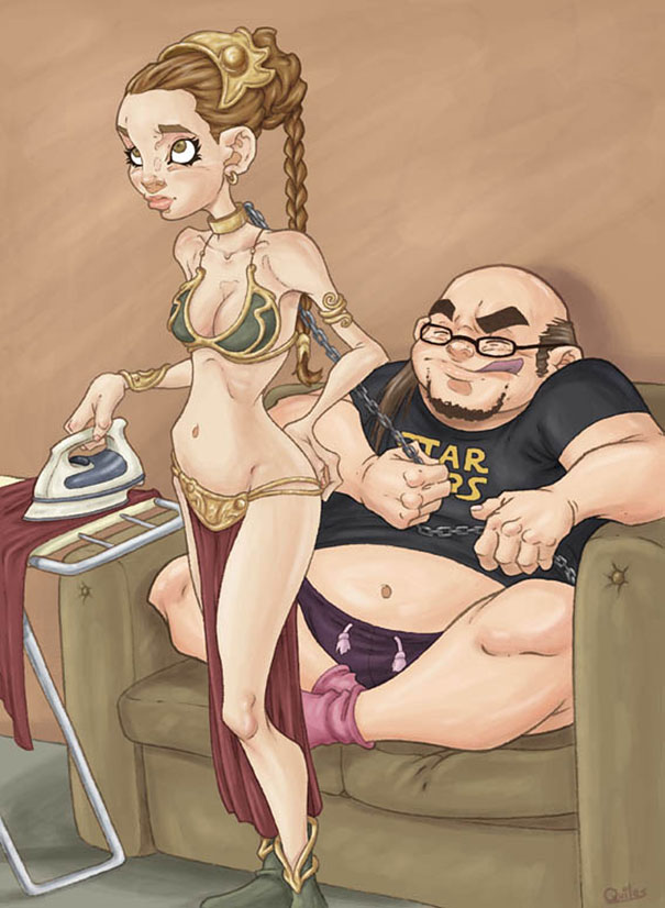 controversial-illustrations-luis-quiles-gunsmithcat-6