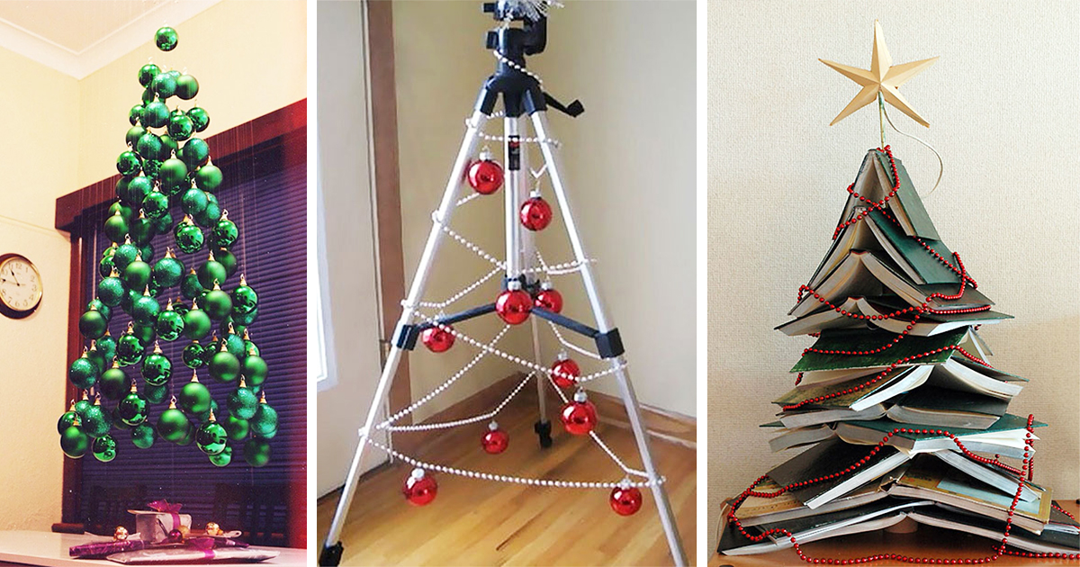 Old Fashion Tree With Ornaments