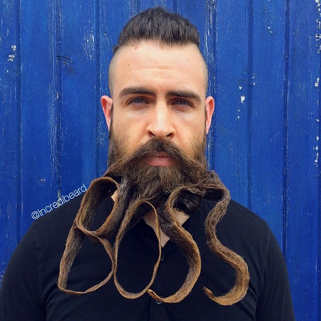 funny creative beard styles incredibeard 13 - Beard Design Ideas