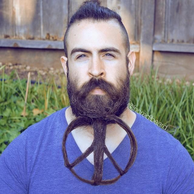 funny creative beard styles incredibeard 14