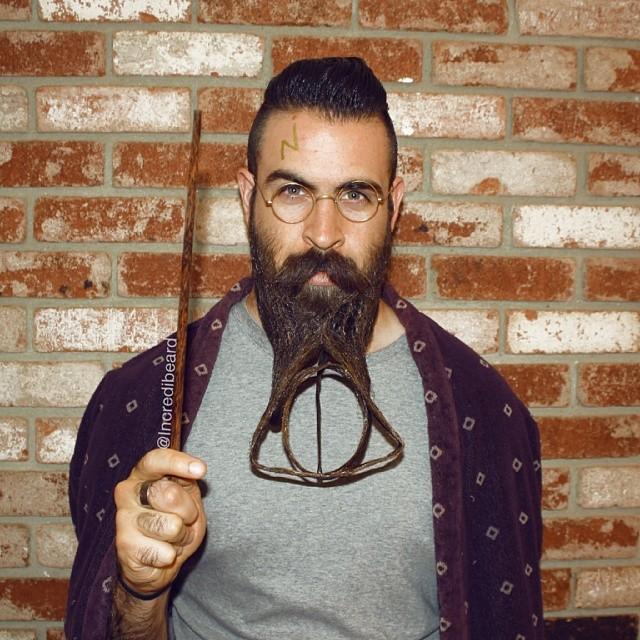 funny creative beard styles incredibeard 21