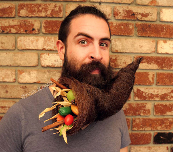 funny creative beard styles incredibeard 4 - Beard Design Ideas