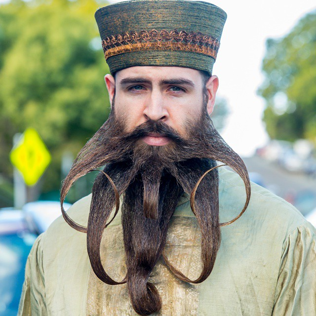 funny creative beard styles incredibeard 8 - Beard Design Ideas