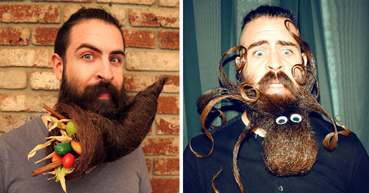 new epic beard designs by mr incredibeard - Beard Design Ideas