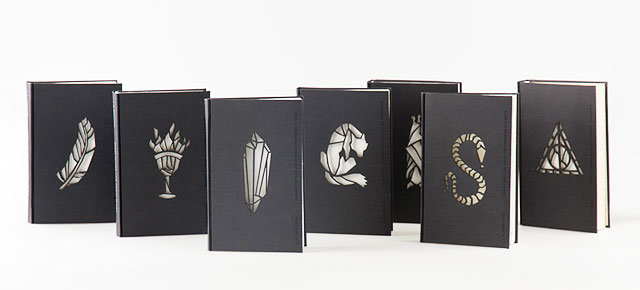 """Book Cover Design Artists : Artist redesigns """"harry potter book covers with a new"""