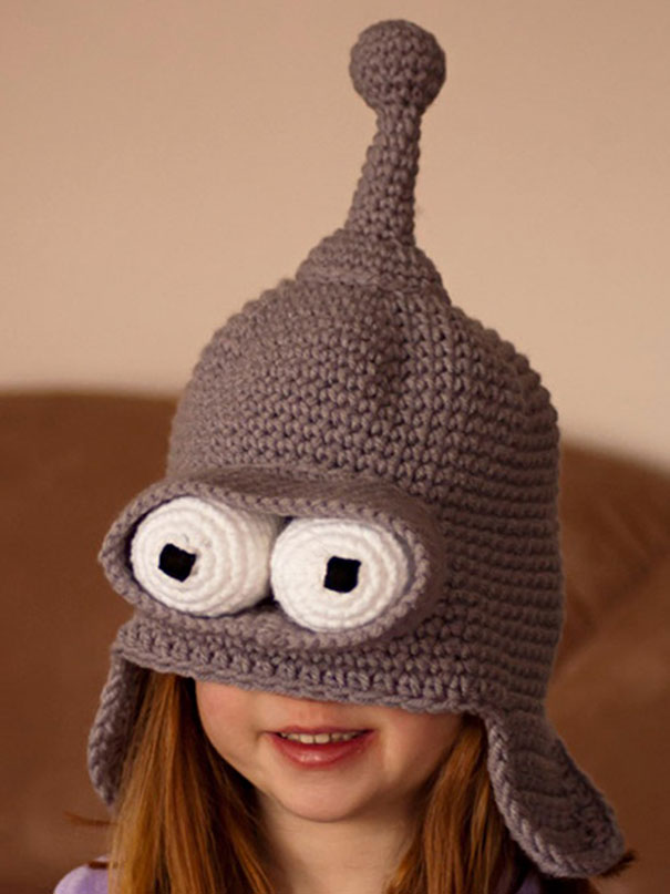 27 Creative And Funny Winter Hats To Keep You Warm c95dd9e0f16