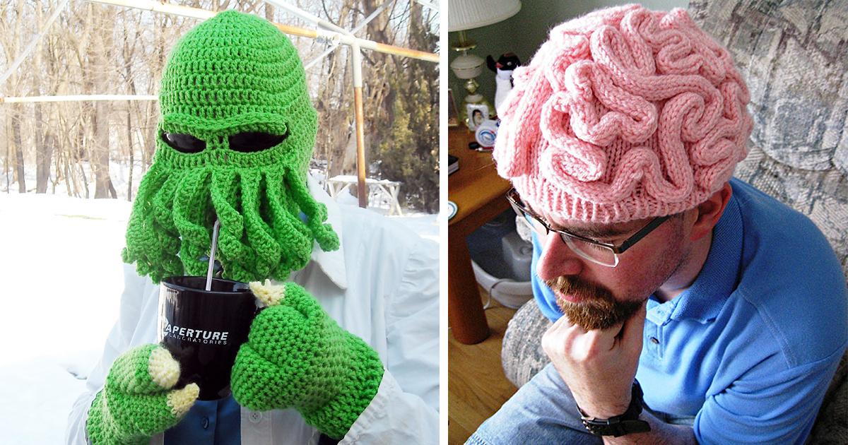 27 Creative And Funny Winter Hats To Keep You Warm cdfb98c0d