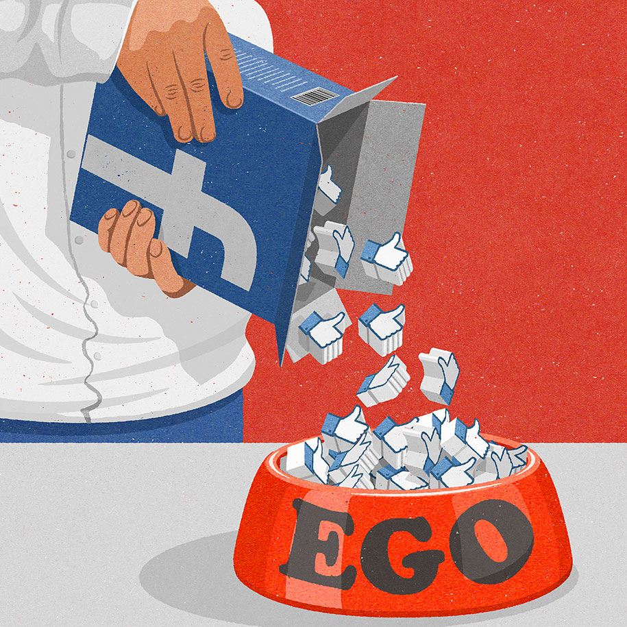 Satiric Illustrations By John Holcroft Show Today S Problems In