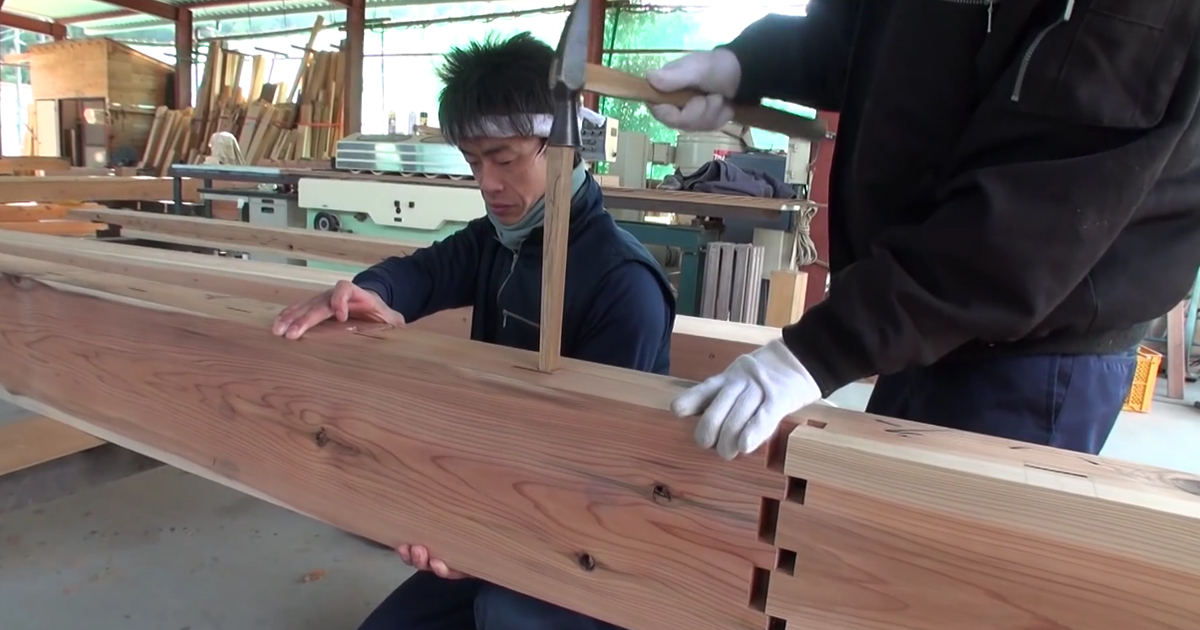 Ancient Japanese Techniques To Make Wooden Buildings