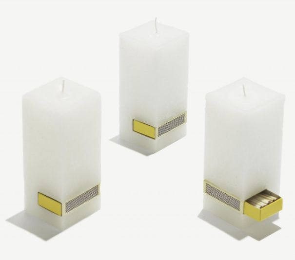 21 Ingenious Candle Designs For Unconventional Romantics
