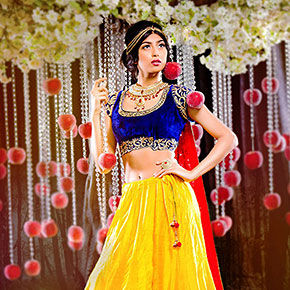 9 Disney Princesses Reimagined As Beautiful Indian Brides