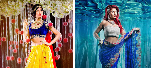 9 disney princesses reimagined as beautiful indian brides thecheapjerseys Choice Image