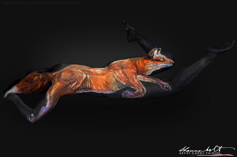 florida-wildlife-series-body-paintings-shannon-holt-23