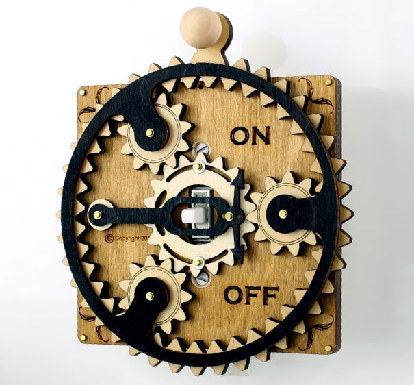 Overly Complicated Light Switch Covers By Green Tree Jewelry