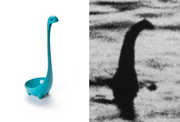 Loch ness monster ladle