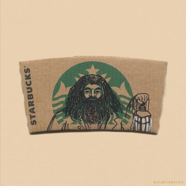 starbucks-cup-sleeve-art-pop-culture-characters-sleevebucks-2