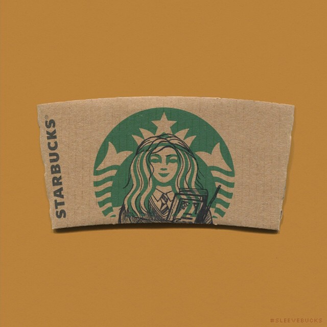 starbucks-cup-sleeve-art-pop-culture-characters-sleevebucks-7