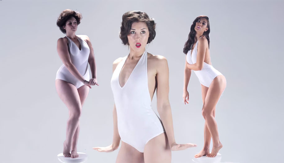 the issue of media shaping the image of an ideal woman Small-scale experiment to explore the differences in body image body shape the ideal body image of media they seem to assume that a woman's.