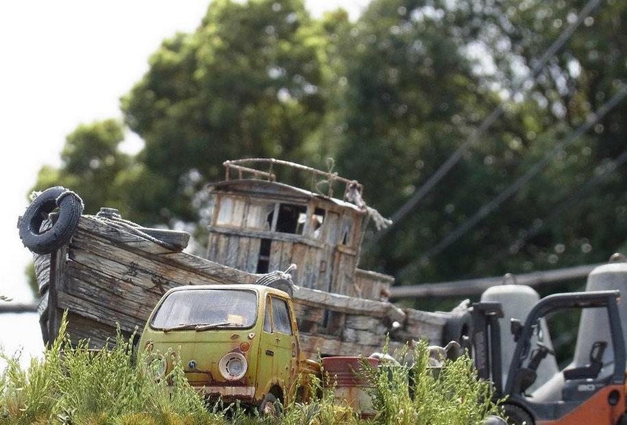 amazing-miniature-diorama-tanks-mecha-satoshi-araki-8