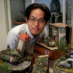 Everyday For Years This Japanese Artist Creates A Fun Miniature - Japanese artist creates fun miniature dioramas everyday for five years